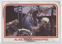 Alas, poor Threepio! [GoodtoVG‑EX]
