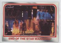 End of the star warriors?