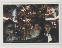 Chewbacca, C-3PO, Leia Organa, Han Solo