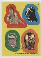 Luke Skywalker, Darth Vader, Luke Skywalker, C-3PO [Good to VG‑…