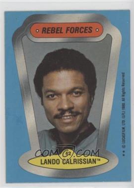 1980 Topps Star Wars: The Empire Strikes Back - Stickers #62 - Lando Calrissian