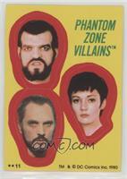 Phantom Zone Villains