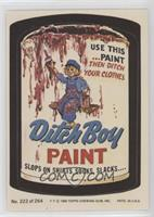 Ditch Boy Paint