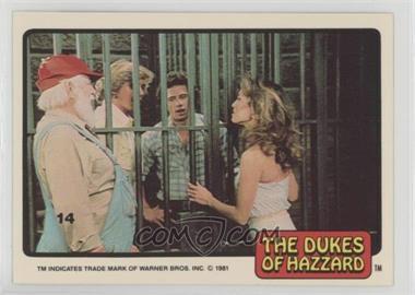 1981 Donruss Dukes of Hazzard - [Base] #14 - [Missing]