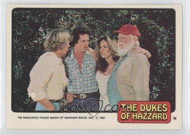 1981 Donruss Dukes of Hazzard - [Base] #16 - [Missing]