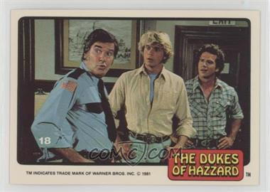 1981 Donruss Dukes of Hazzard - [Base] #18 - [Missing]