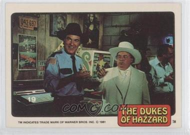 1981 Donruss Dukes of Hazzard - [Base] #19 - [Missing]