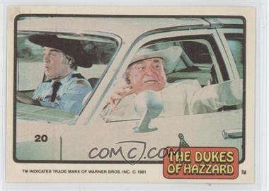 1981 Donruss Dukes of Hazzard - [Base] #20 - [Missing]