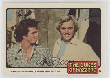 1981 Donruss Dukes of Hazzard - [Base] #6 - Luke Duke, Bo Duke
