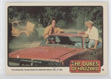 1981 Donruss Dukes of Hazzard - [Base] #7 - [Missing]
