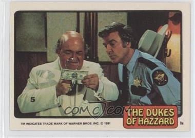1981 Donruss Dukes of Hazzard Stickers - [Base] #5 - Boss Hogg, Sheriff Rosco P. Coltrane