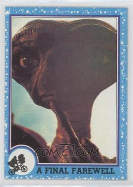 1982 Topps E.T. The Extra Terrestrial in His Adventure on Earth - [Base] #76 - A Final Farewell