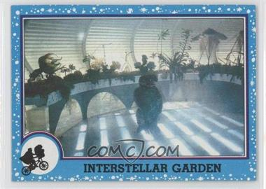 1982 Topps E.T. The Extra Terrestrial in His Adventure on Earth - [Base] #80 - Interstellar Garden