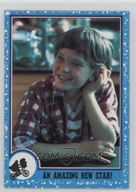 1982 Topps E.T. The Extra Terrestrial in His Adventure on Earth - [Base] #85 - An Amazing New Star!