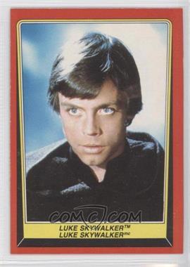 1983 O-Pee-Chee Star Wars: Return of the Jedi - [Base] #2 - Luke Skywalker