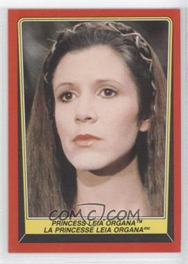 1983 O-Pee-Chee Star Wars: Return of the Jedi - [Base] #5 - Princess Leia Organa