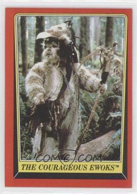 1983 Topps Star Wars: Return of the Jedi - [Base] #103 - The Courageous Ewoks