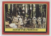 Break for Freedom!