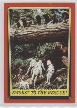 1983 Topps Star Wars: Return of the Jedi - [Base] #111 - Ewoks to the Rescue!