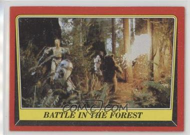 1983 Topps Star Wars: Return of the Jedi - [Base] #112 - Battle in the Forest