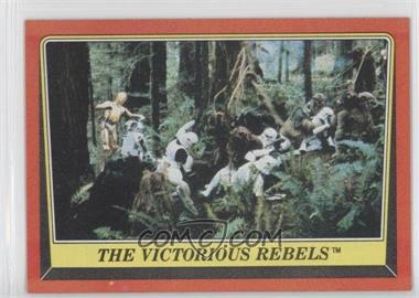 1983 Topps Star Wars: Return of the Jedi - [Base] #114 - The Victorious Rebels