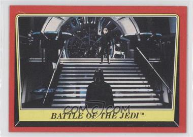 1983 Topps Star Wars: Return of the Jedi - [Base] #119 - Battle of the Jedi