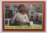 Military Leader Admiral Ackbar