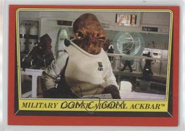 1983 Topps Star Wars: Return of the Jedi - [Base] #124 - Military Leader Admiral Ackbar