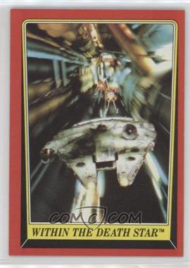 1983 Topps Star Wars: Return of the Jedi - [Base] #125 - Within the