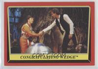 Congratulating Wedge