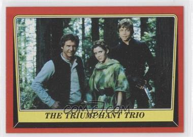 1983 Topps Star Wars: Return of the Jedi - [Base] #128 - The Triumphant Trio
