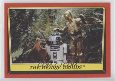 1983 Topps Star Wars: Return of the Jedi - [Base] #129 - The Heroic Droids