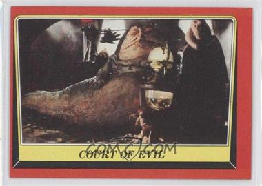 1983 Topps Star Wars: Return of the Jedi - [Base] #13 - Court of Evil