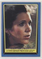 A Concerned Princess Leia
