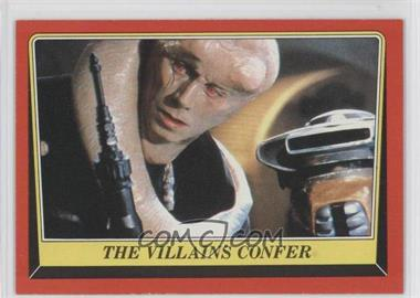 1983 Topps Star Wars: Return of the Jedi - [Base] #26 - The Villains Confer