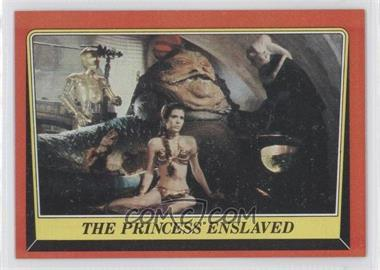 1983 Topps Star Wars: Return of the Jedi - [Base] #32 - The Princess Enslaved