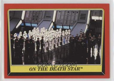 1983 Topps Star Wars: Return of the Jedi - [Base] #54 - On the Death Star