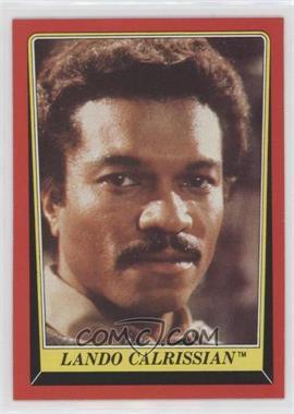 1983 Topps Star Wars: Return of the Jedi - [Base] #6 - Lando Calrissian