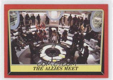 1983 Topps Star Wars: Return of the Jedi - [Base] #60 - The Allies Meet