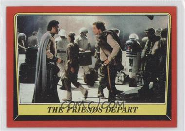 1983 Topps Star Wars: Return of the Jedi - [Base] #65 - The Friends Depart