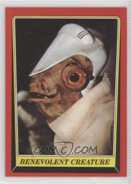 1983 Topps Star Wars: Return of the Jedi - [Base] #66 - Benevolent Creature
