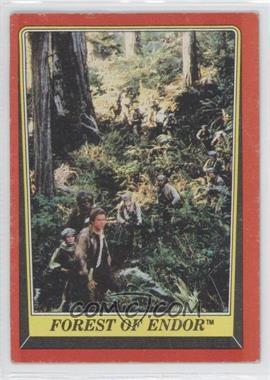 1983 Topps Star Wars: Return of the Jedi - [Base] #68 - Forest of Endor