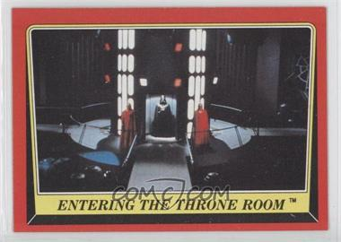 1983 Topps Star Wars: Return of the Jedi - [Base] #76 - Entering the Throne Room