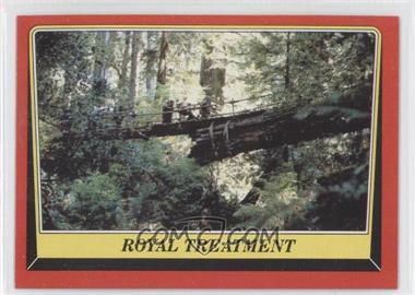 1983 Topps Star Wars: Return of the Jedi - [Base] #81 - Royal Treatment