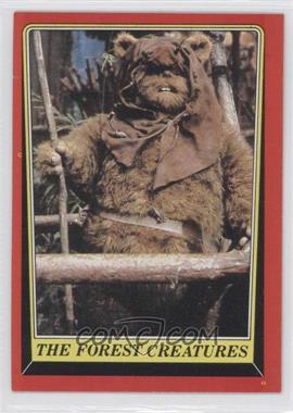 1983 Topps Star Wars: Return of the Jedi - [Base] #89 - The Forest Creatures