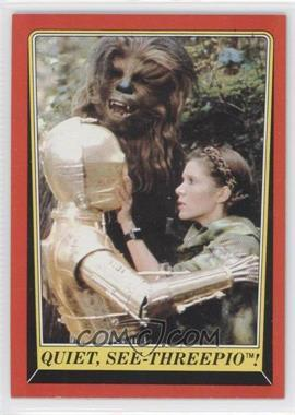 1983 Topps Star Wars: Return of the Jedi - [Base] #95 - Quiet, See-Threepio!