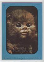Baby Ewok (Blue) [Noted]
