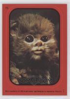 Baby Ewok (Red)
