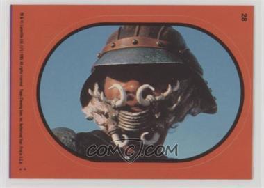 1983 Topps Star Wars: Return of the Jedi - Stickers #28.2 - Lando Calrissian (Orange)