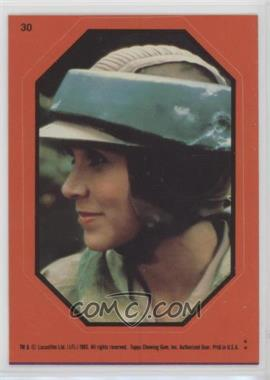 1983 Topps Star Wars: Return of the Jedi - Stickers #30.2 - Princess Leia (Orange)